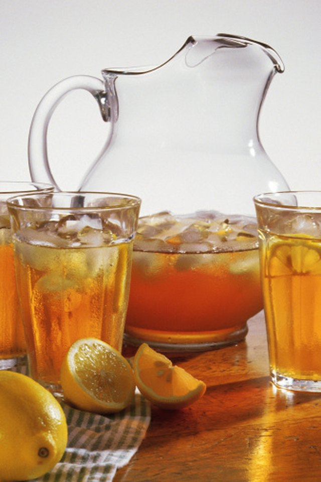 how to make own iced tea