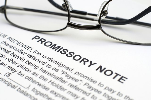 There Are Promissory Notes For Everything From Cars To Horses