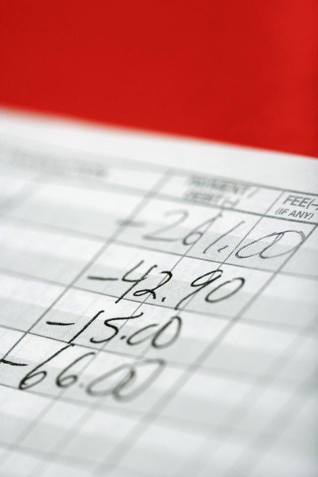 how to keep a personal financial ledger sapling com