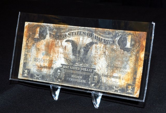 How Much Is a 1928 One Dollar Silver Certificate Worth? | Sapling.com