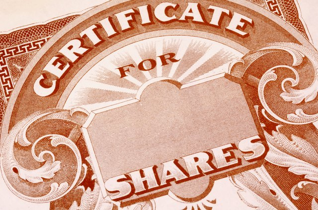 How to Track Lost Stock Certificates   Sapling.com