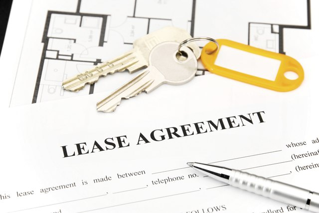 rider to lease agreement sapling com