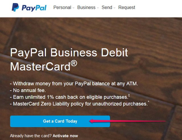 How to get a paypal debit card sapling credit image courtesy of paypal colourmoves
