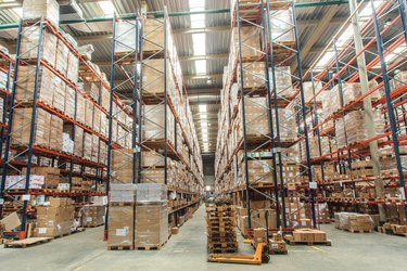 How to Calculate Wholesale Price               warehouse shelves with goods