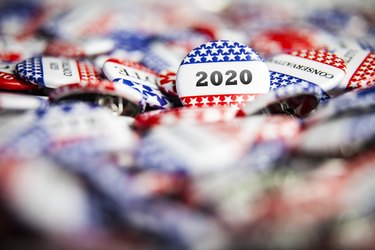 Election Vote Buttons 2020
