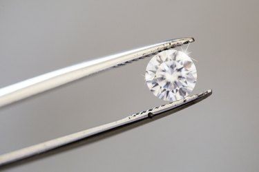 Do Diamonds Appreciate or Depreciate in Value?Diamond being inspected with tweezers