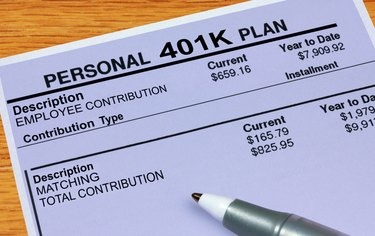 """What Is the Meaning of """"Deferral"""" in 401K Plans?"""