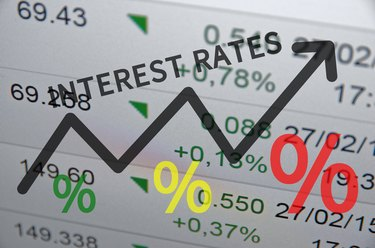 Differences Between Interest Rates & APR