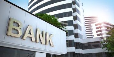 Bank, 3D illustration