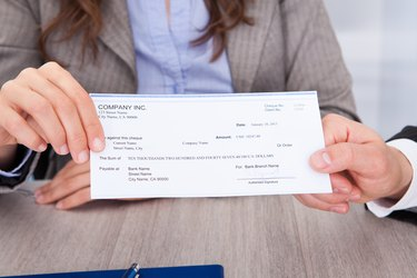 Who Signs the Remitter on a Cashier's Check?