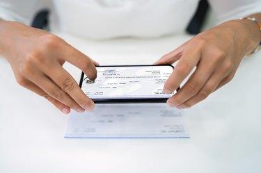 Remote Check Deposit Using Phone