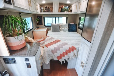 Modern Camper With a Remodeled Interior