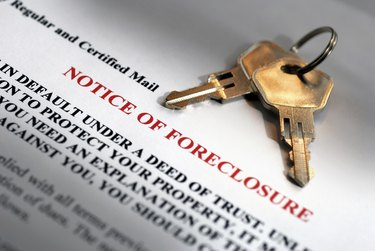 Notice of Foreclosure and House Keys