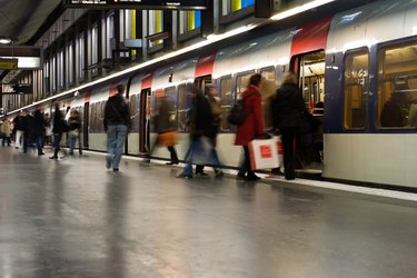 Paris Metro Stop