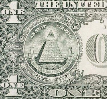 Eye of Providence - One dollar bill