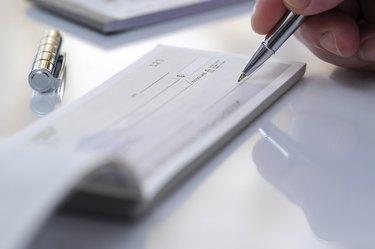 Prepare writing check