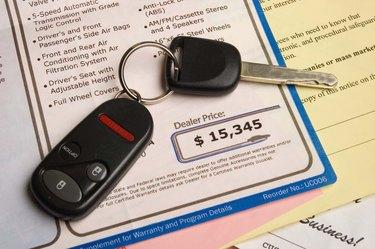 Automobile purchase