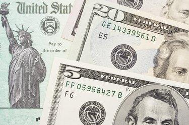 Tax Refund Cheque
