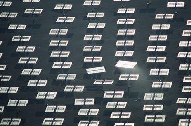 Solar One-Solar Energy panel array, 300 mirrors,