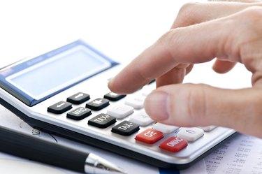 Tax calculator and pen