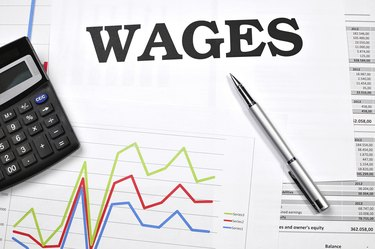 Quick look at the wages
