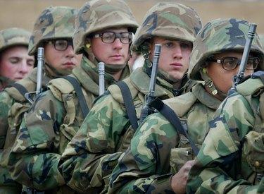 U. S. Marines Train At Camp Pendleton