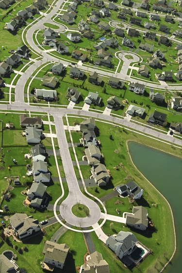 Suburbs in Indiana