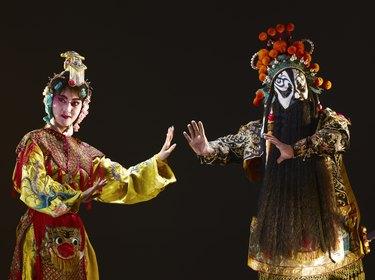 Chinese opera (Ba Wang and Yu Ji)