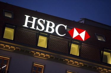 The Swiss Offices Of HSBC Private Bank In Geneva