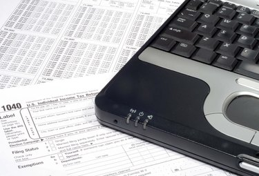 Laptop and Income Tax Return