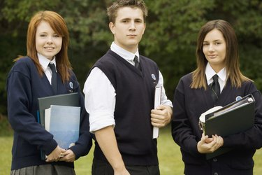 Portrait of students