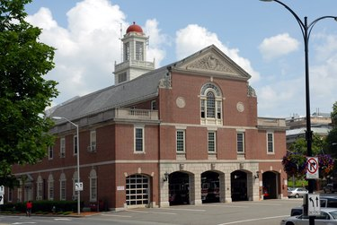 Old fashioned firehall