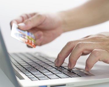 Pay the money and purchase goods via internet