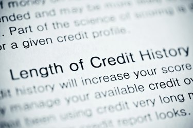 Lenght of credit history