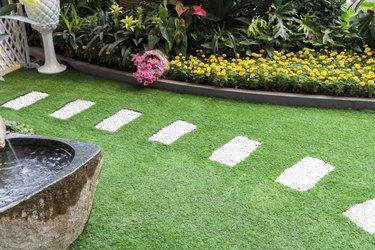 Path in garden.