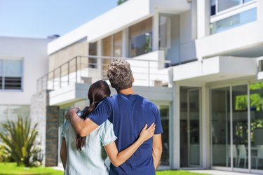 Cople family looking to new modern big house