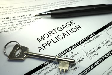 application for mortgage