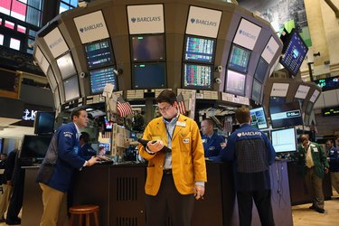Dow Closes Up 204 Points