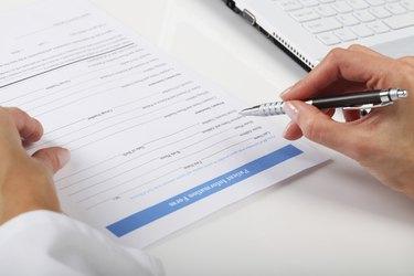 Filling Medical Form