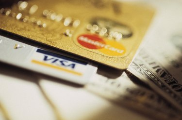 Credit cards and American money