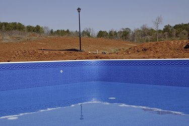 New Swimming Pool Liner