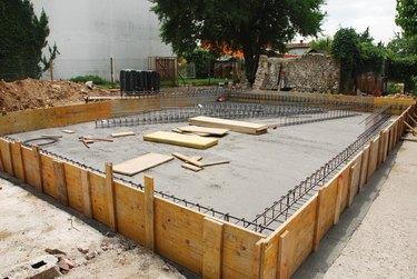 House Foundation Preparation