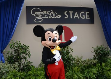 The Walt Disney Company Hosts A Special Stage Rededication Ceremony For Annette Funicello