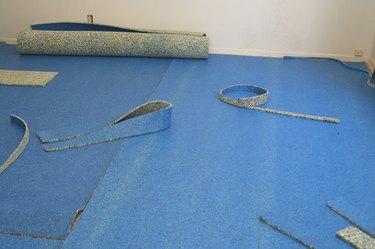 New Carpet Pad Installation