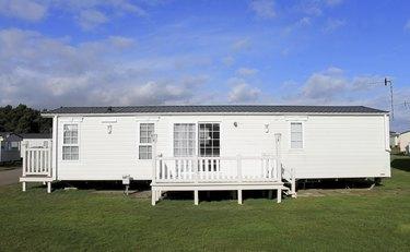 Luxurious modern caravan