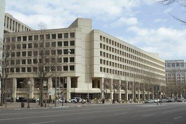 """Winter FBI Building Pennsylvania Ave, Washington DC, United Stat"""