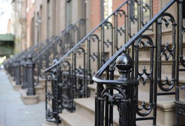 Brownstone Apartment steps