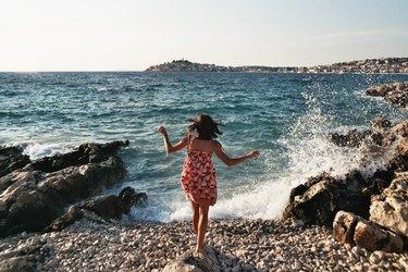 Millennial Girl at the beach