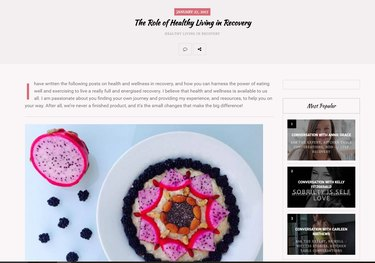 dragonfruit bowl healthy eating web page