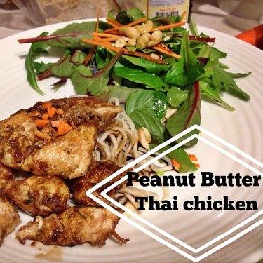 Peanut Butter Thai Chicken